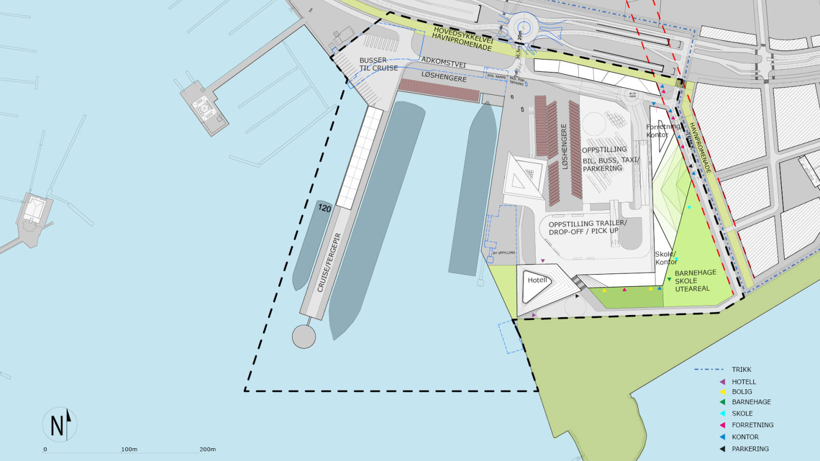 DEVELOPED PLAN - Filipstad Ferry Terminal - SPOL Architects