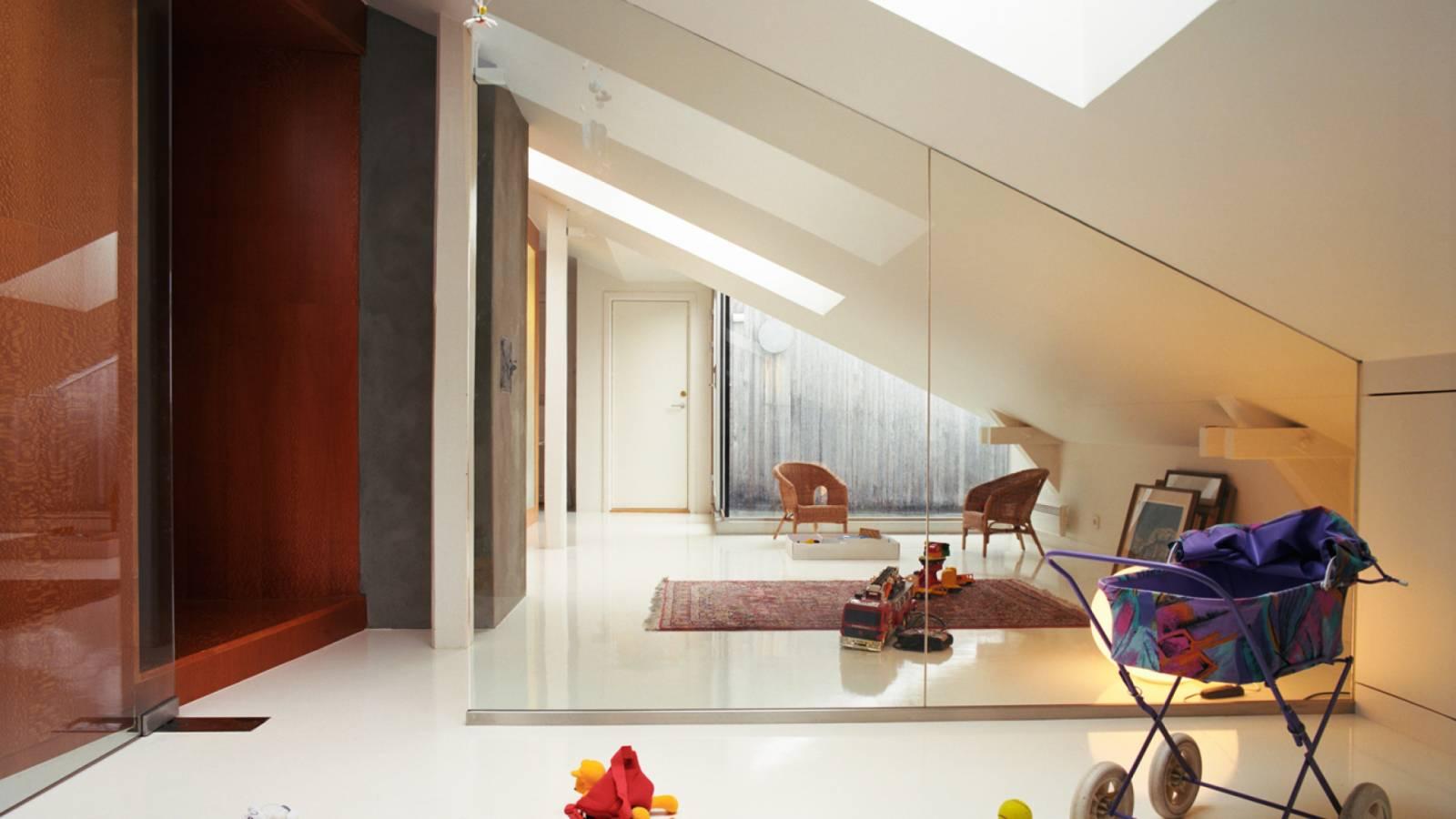 PLAYROOM AND STUDY - B-Loft - SPOL Architects