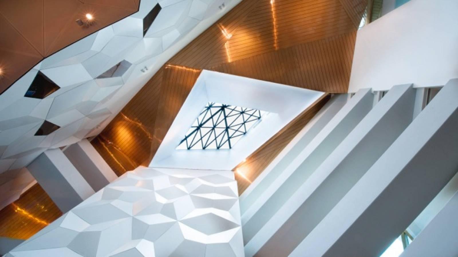 ATRIUM WITH BRIDGES - Clarion Hotel & Congress - SPOL Architects
