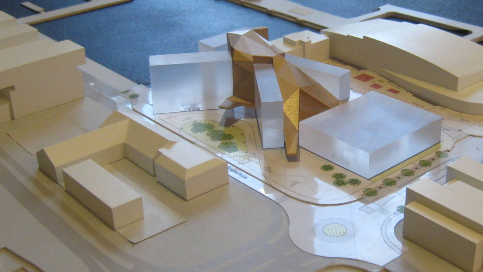 MODEL - Clarion Hotel & Congress - SPOL Architects
