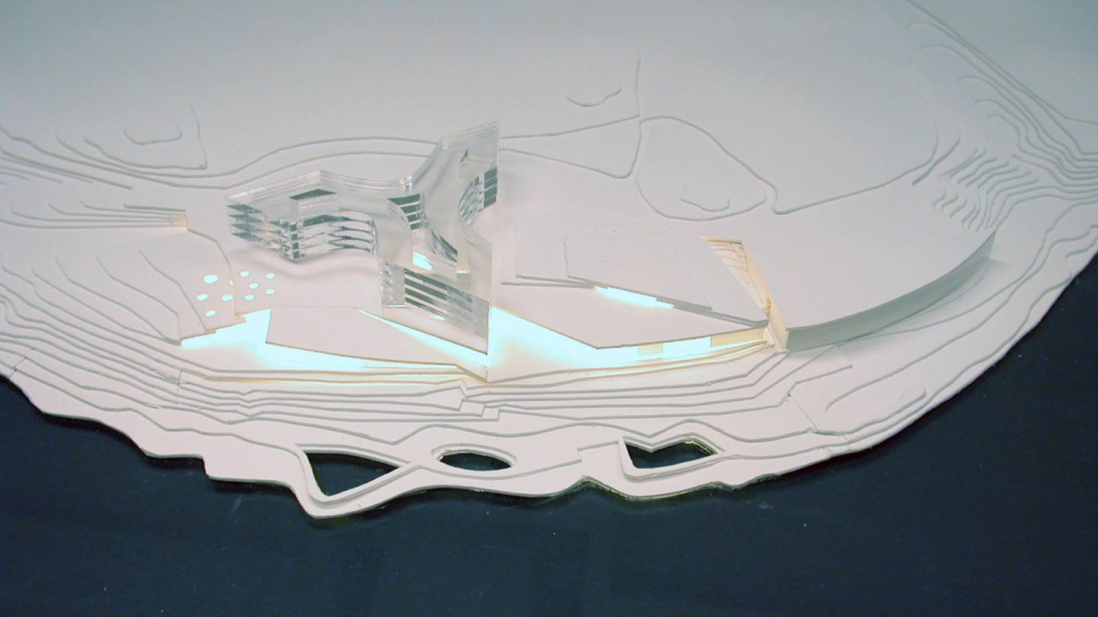 MODEL - Lernacken Hotel - SPOL Architects