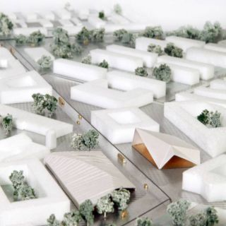 SG093_Drottninghog_Masterplan_SPOL_Architects_16_Centre with new bazar and idea store