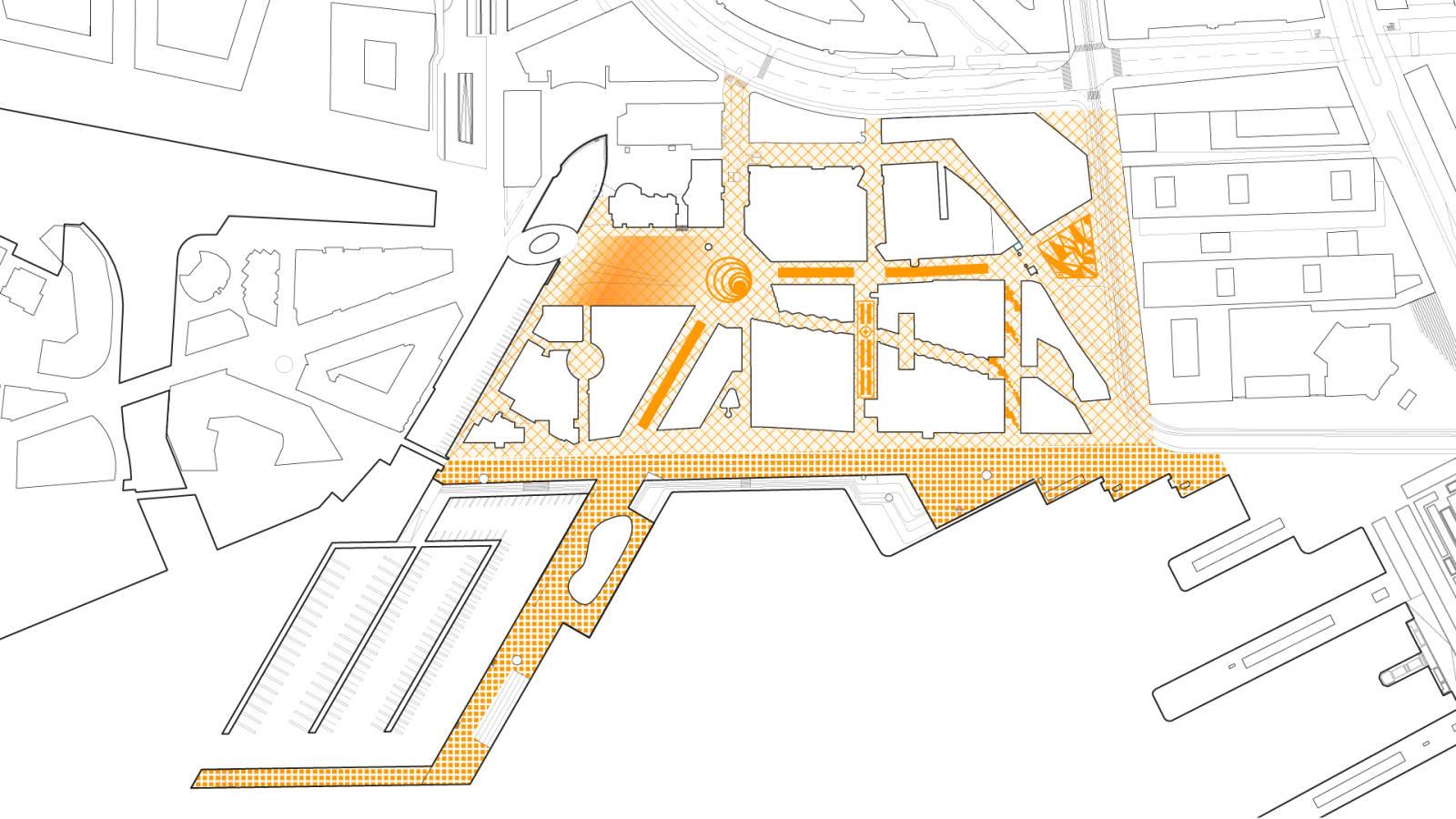 PAVING - Aker Brygge Masterplan - SPOL Architects