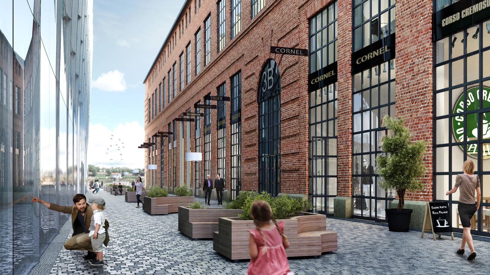 GRUNDINGEN - Aker Brygge Masterplan - SPOL Architects