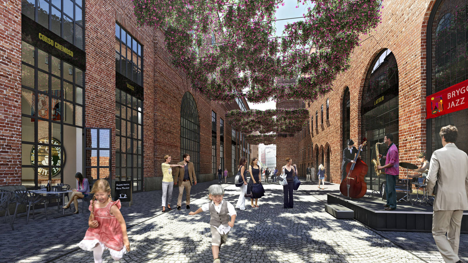 HOLMENS GATE - Aker Brygge Masterplan - SPOL Architects