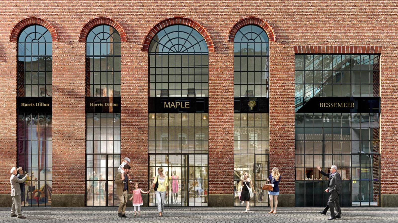 HIGH STREET SHOPPING - Aker Brygge Masterplan - SPOL Architects