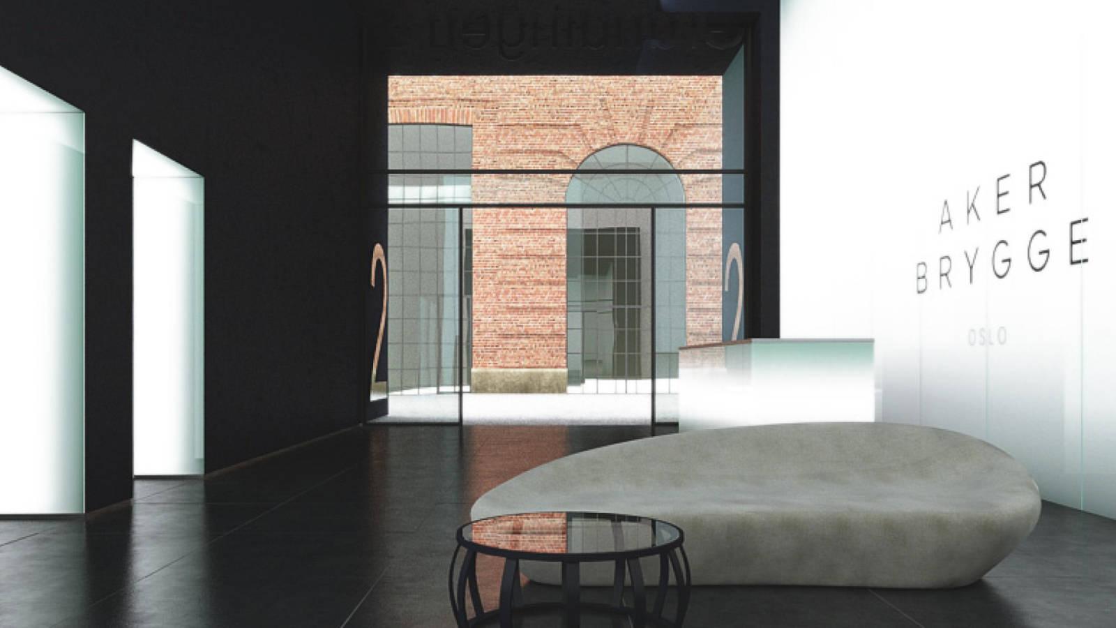 OFFICE LOBBIES - Aker Brygge Masterplan - SPOL Architects