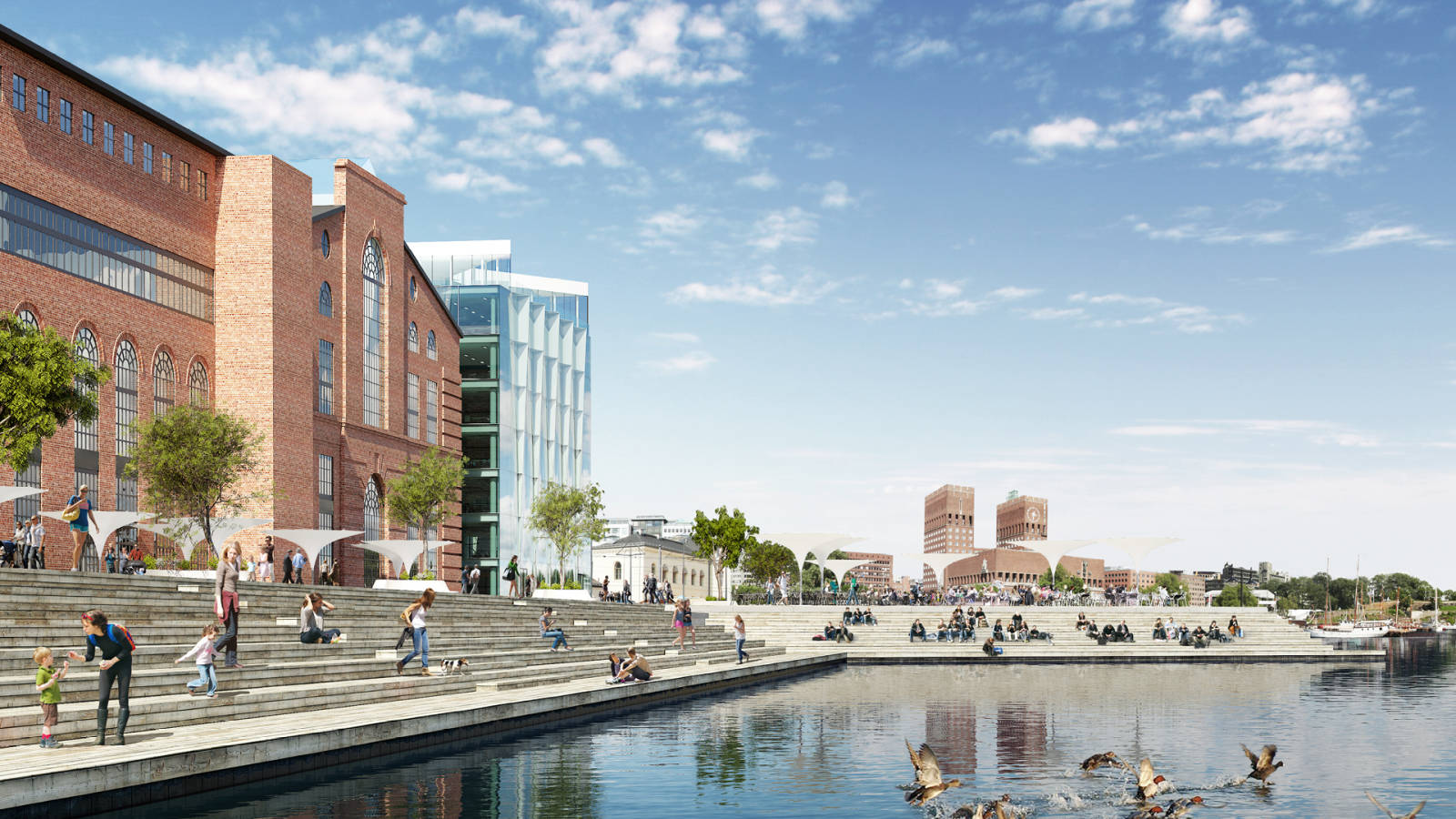 FREE WATERFRONT - Aker Brygge Masterplan - SPOL Architects