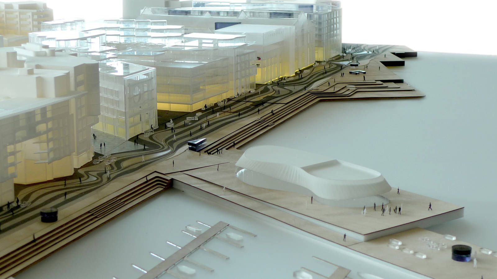 MARINA - Aker Brygge Masterplan - SPOL Architects