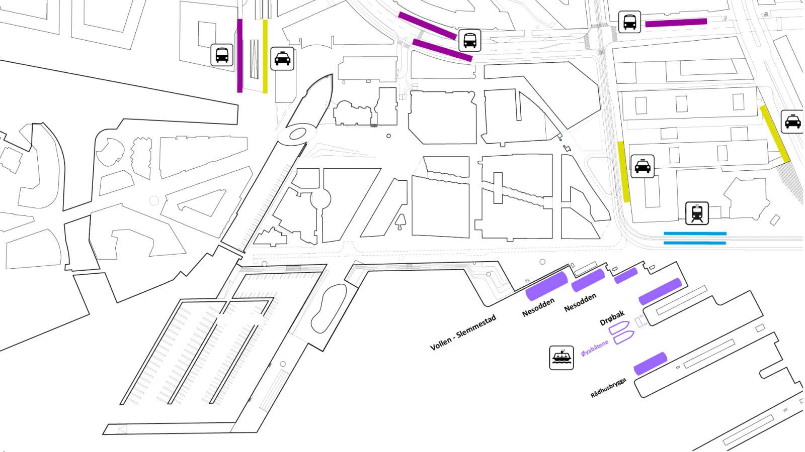 PUBLIC TRANSPORT - Aker Brygge Masterplan - SPOL Architects