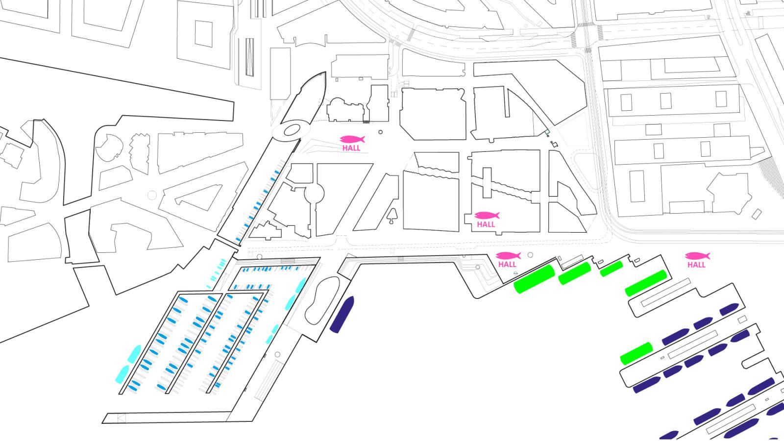 BOATS AND FISHING - Aker Brygge Masterplan - SPOL Architects