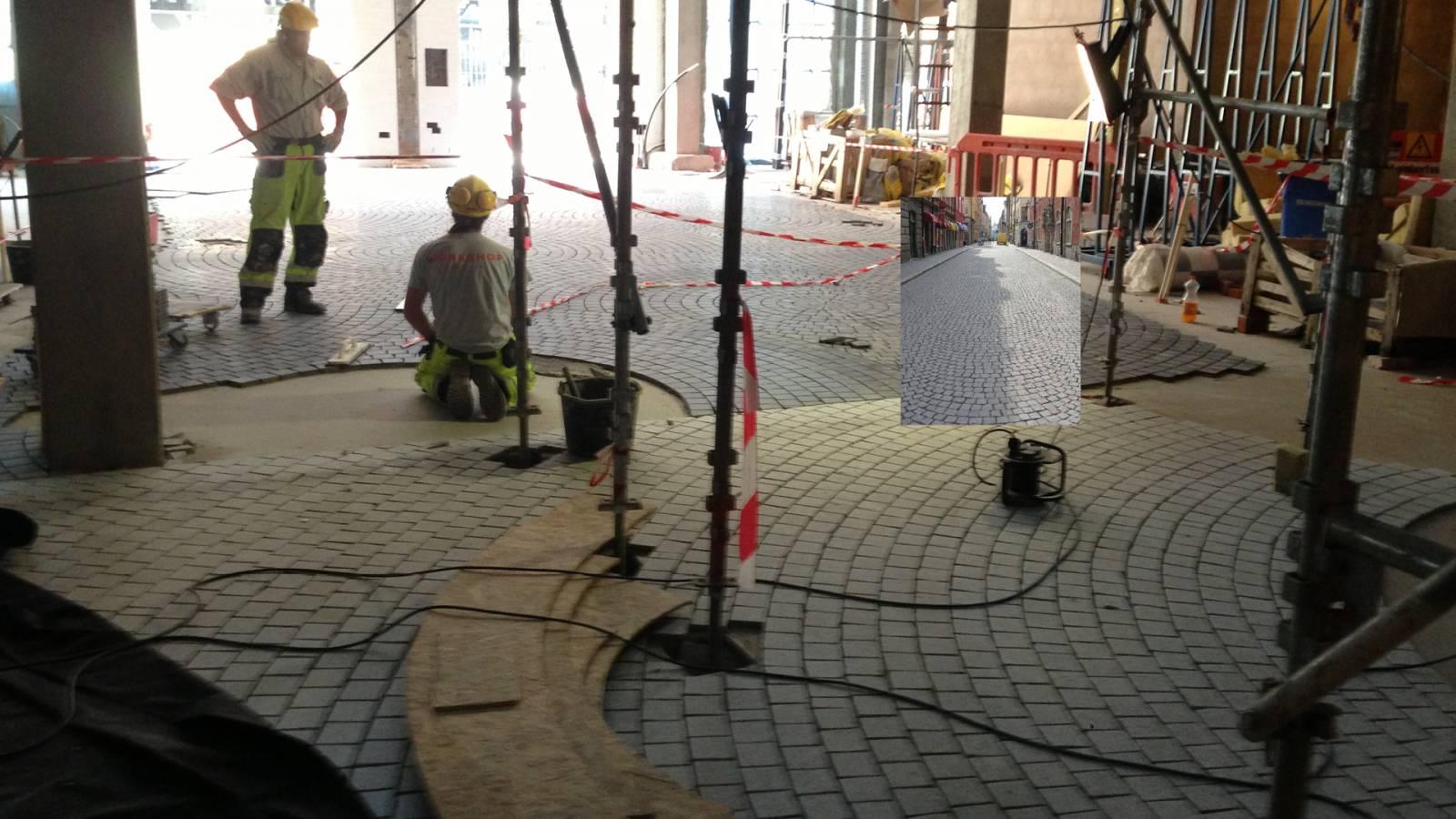 CLEAN CUT PAVING - Akers Mek Verksted - SPOL Architects