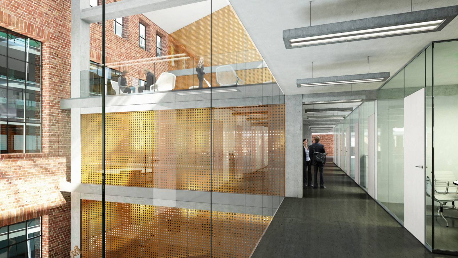 OFFICE CONCEPT - Akers Mek Verksted - SPOL Architects