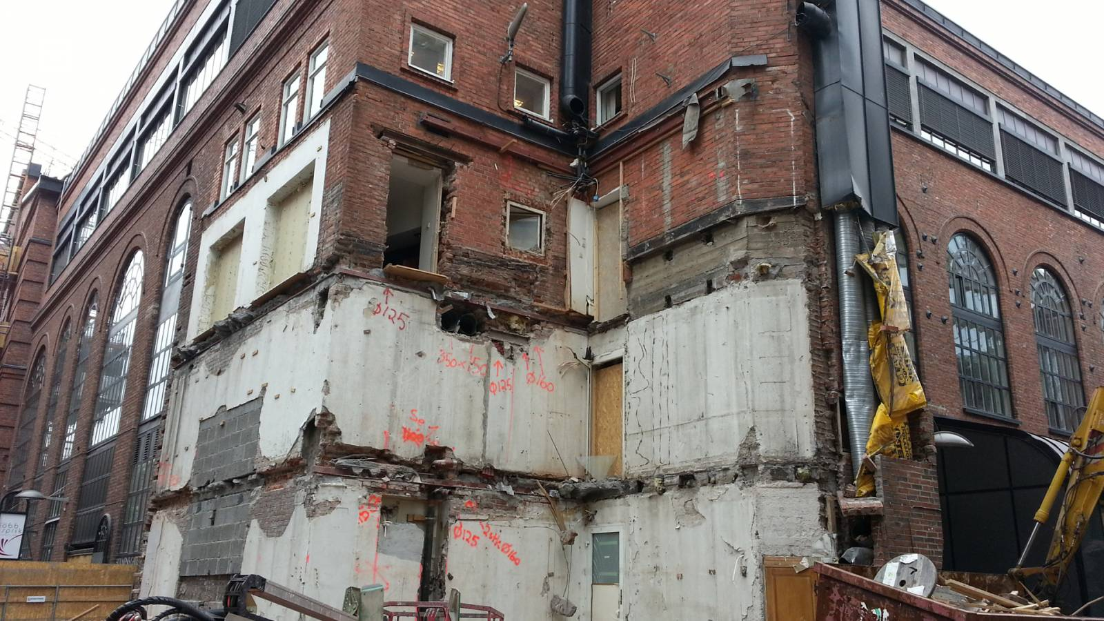 HOLMENS GATE CLEANUP - Akers Mek Verksted - SPOL Architects