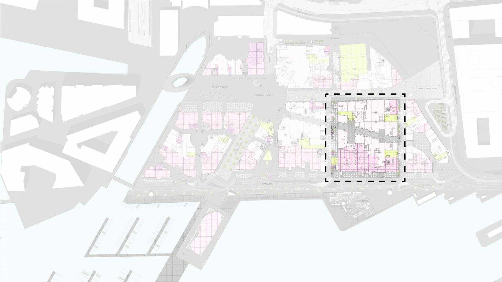 MASTERPLAN LOCATION - Aker Shipyard Workshops - SPOL Architects