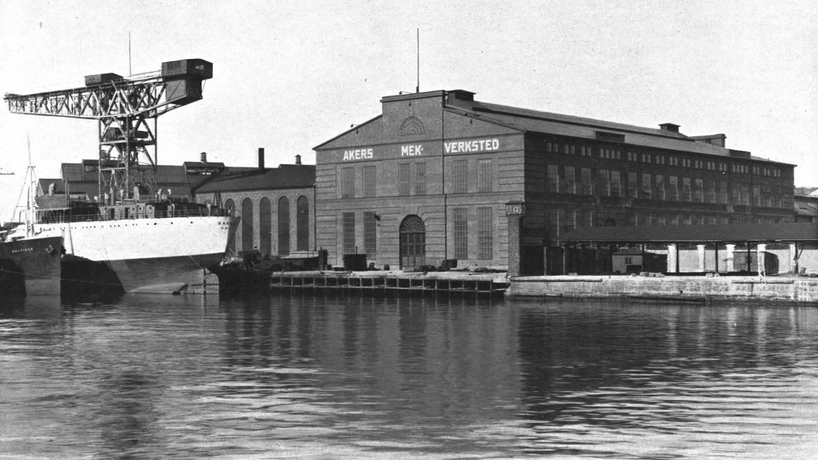 1931 - Akers Mek Verksted - SPOL Architects