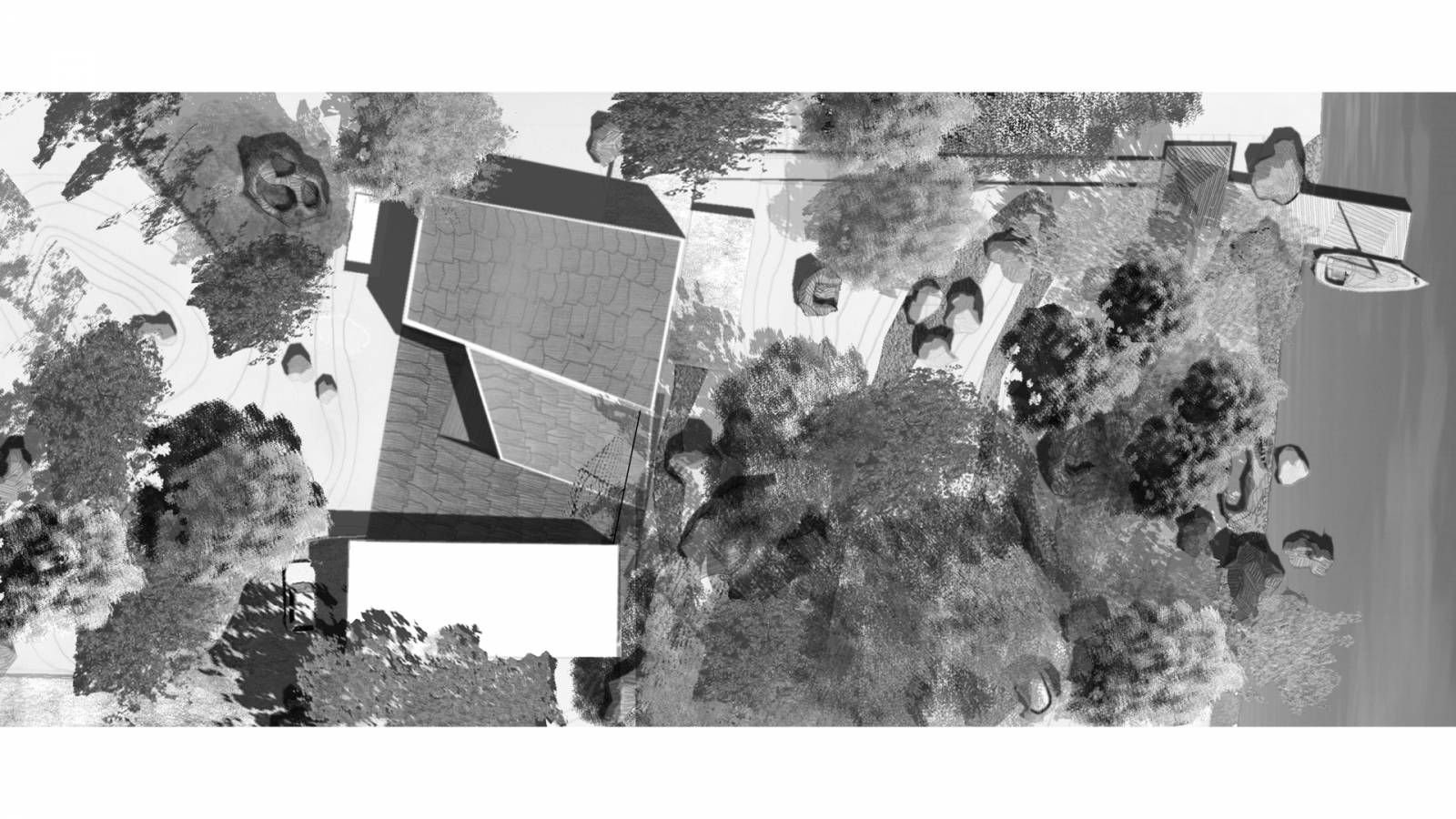 SITE PLAN - V-House - SPOL Architects