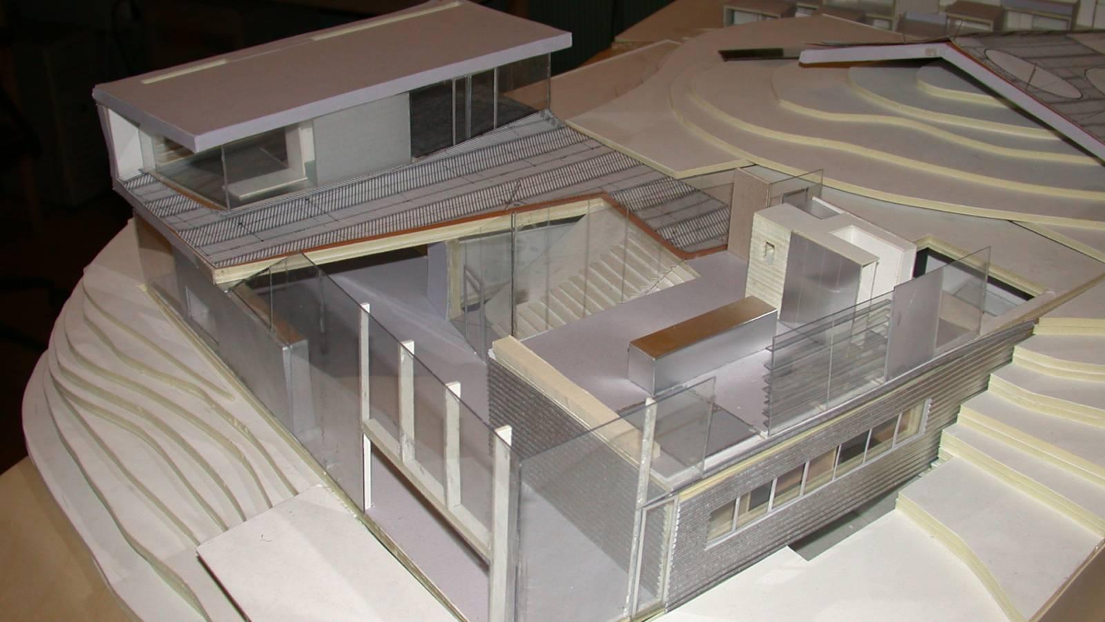 WORKING MODEL - V-House - SPOL Architects
