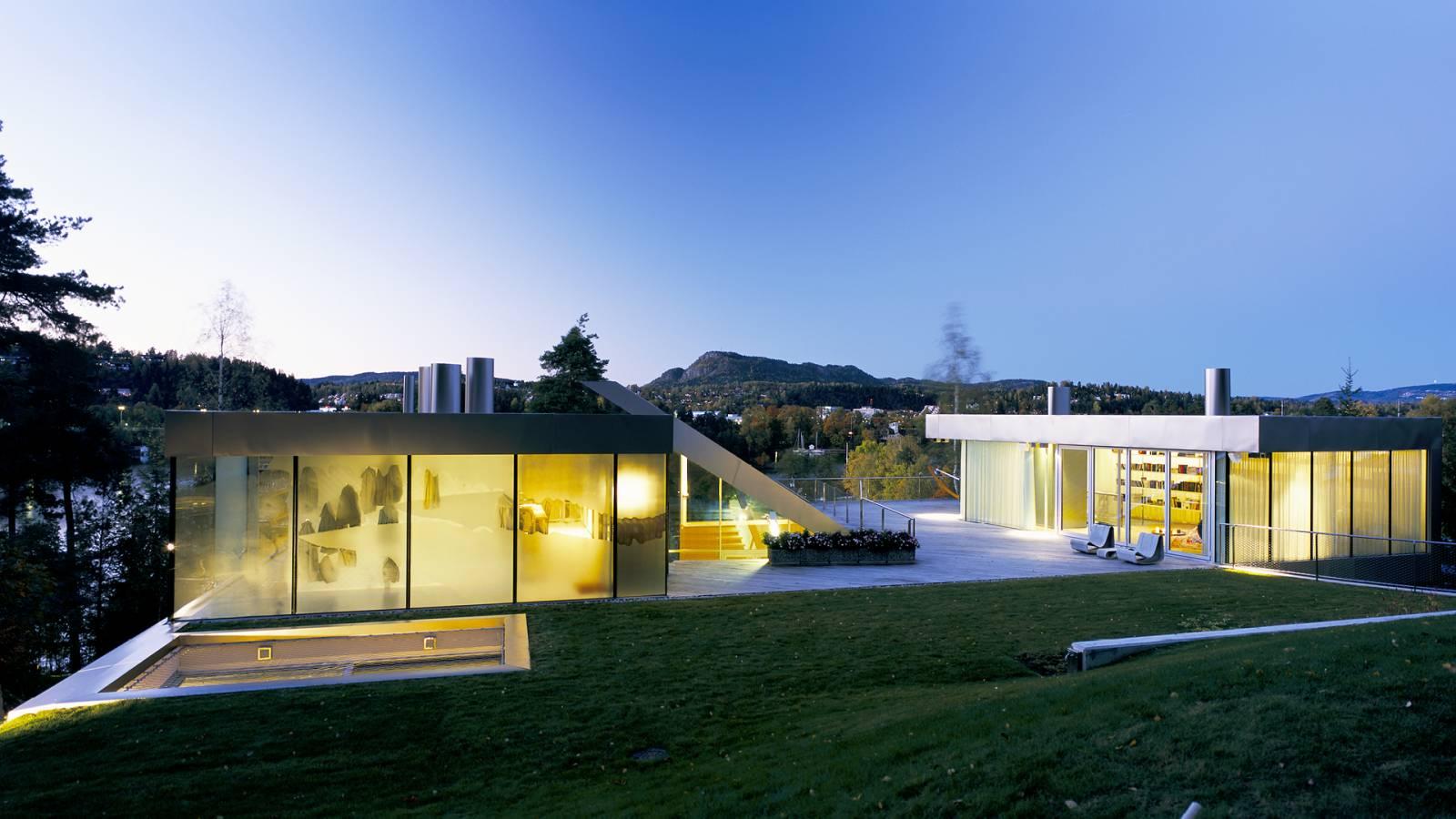 NIGHT VIEW - V-House - SPOL Architects