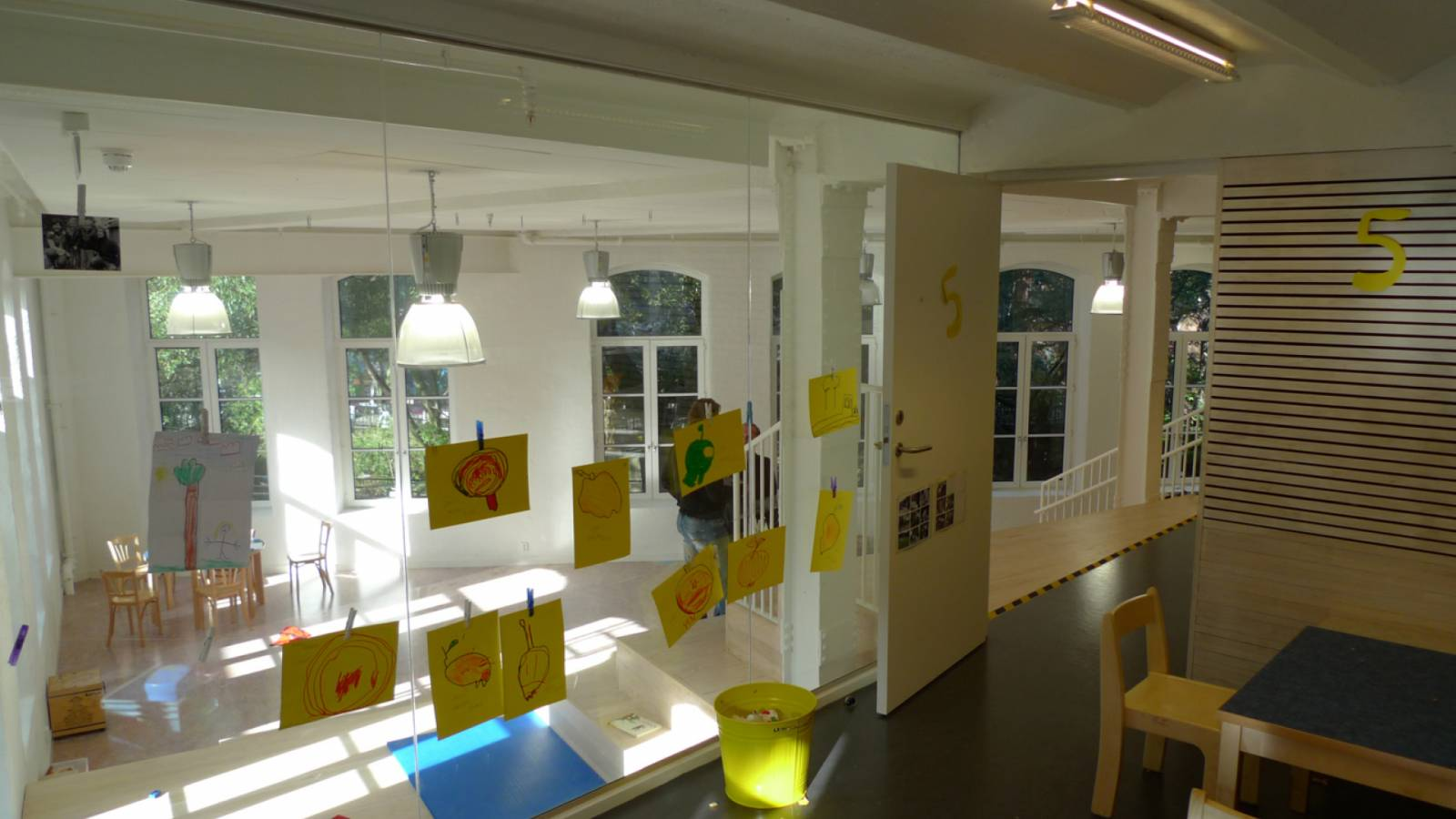 FROM BASE ROOM - Ny York Cultural kindergarten - SPOL Architects