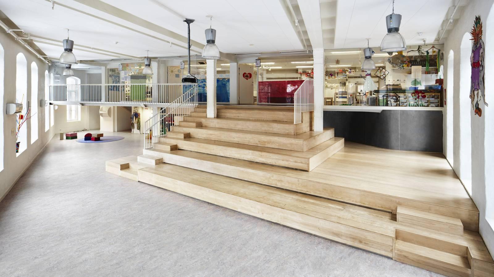 ASSEMBLY ROOM - Ny York Cultural kindergarten - SPOL Architects
