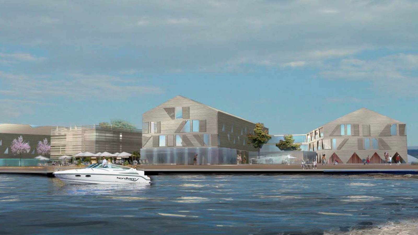 VIEW FROM BEACH - Støtvig Hotel & Resort - SPOL Architects