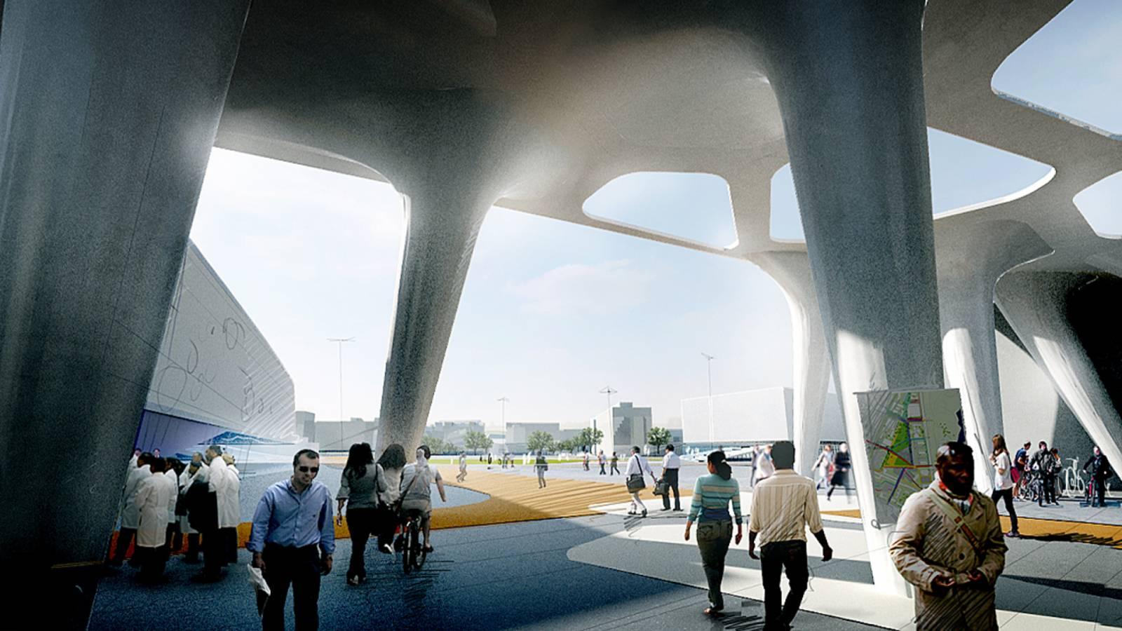 CAMPUS CENTRE - Nørre Campus - SPOL Architects
