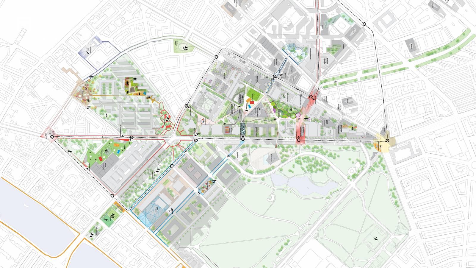 SITE PLAN - Nørre Campus - SPOL Architects