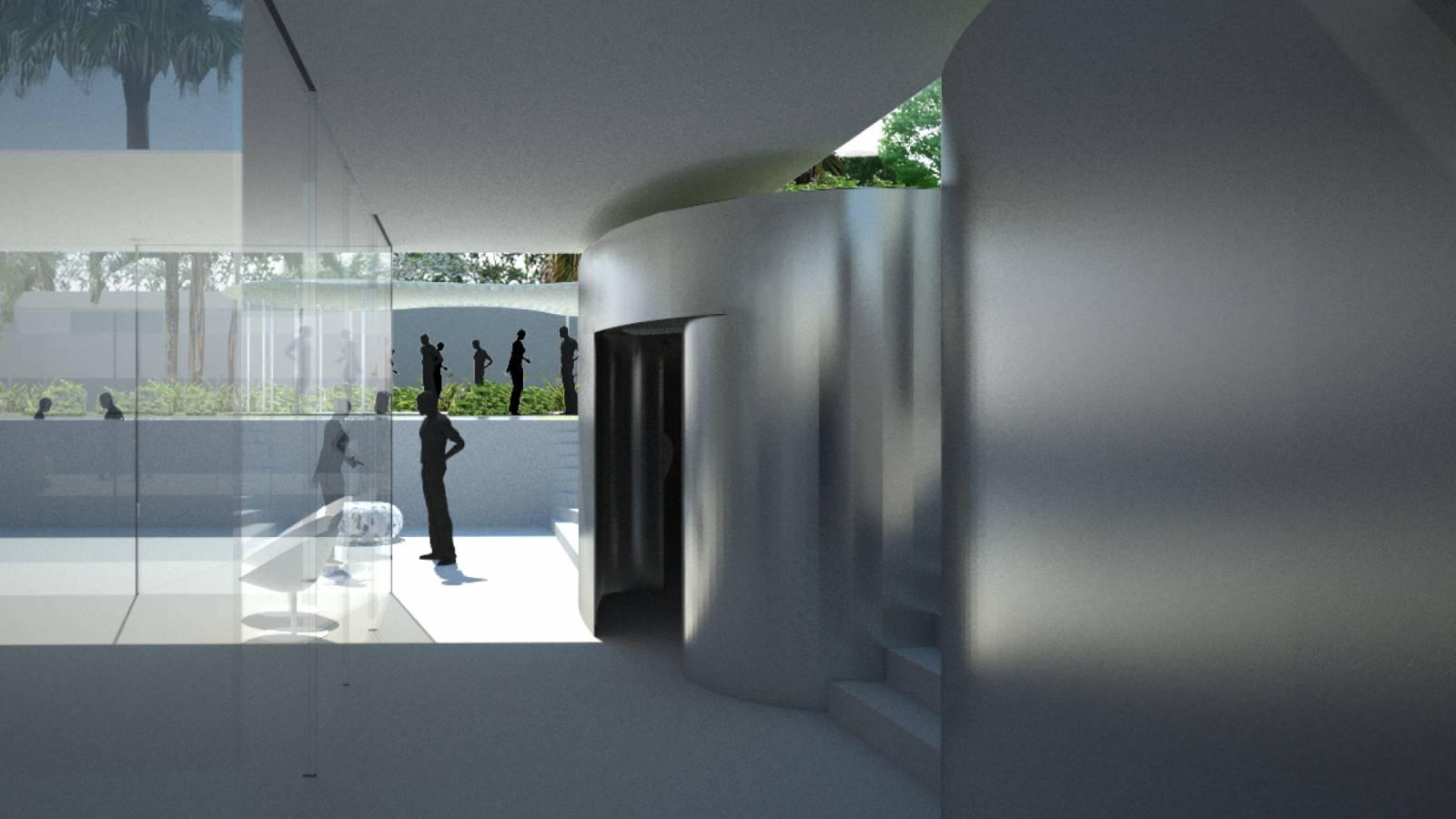 SERVICE AREA - São Paulo Art Pavillion - SPOL Architects