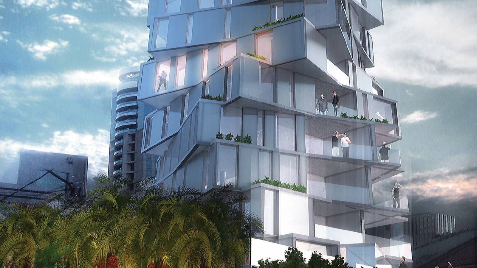 TOWER BASE - Huma Tower - SPOL Architects