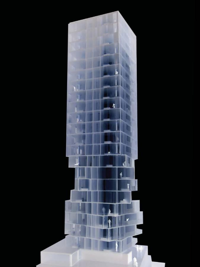 MODEL - Huma Tower - SPOL Architects