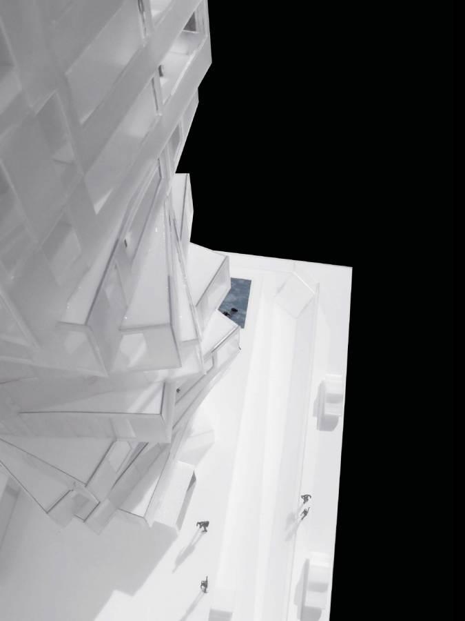 MODEL BASE - Huma Tower - SPOL Architects