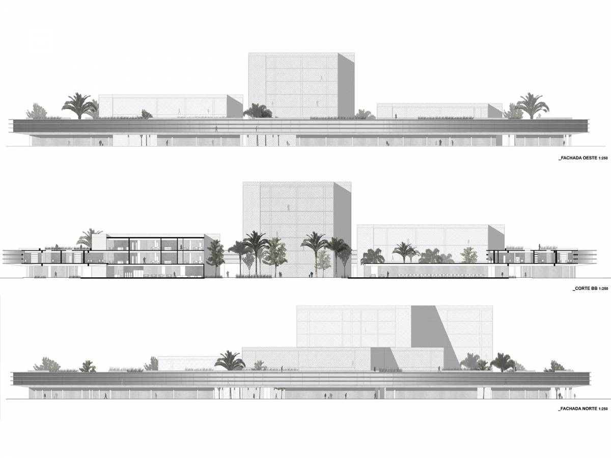 SECTION AND ELEVATIONS - Maranhão - SPOL Architects
