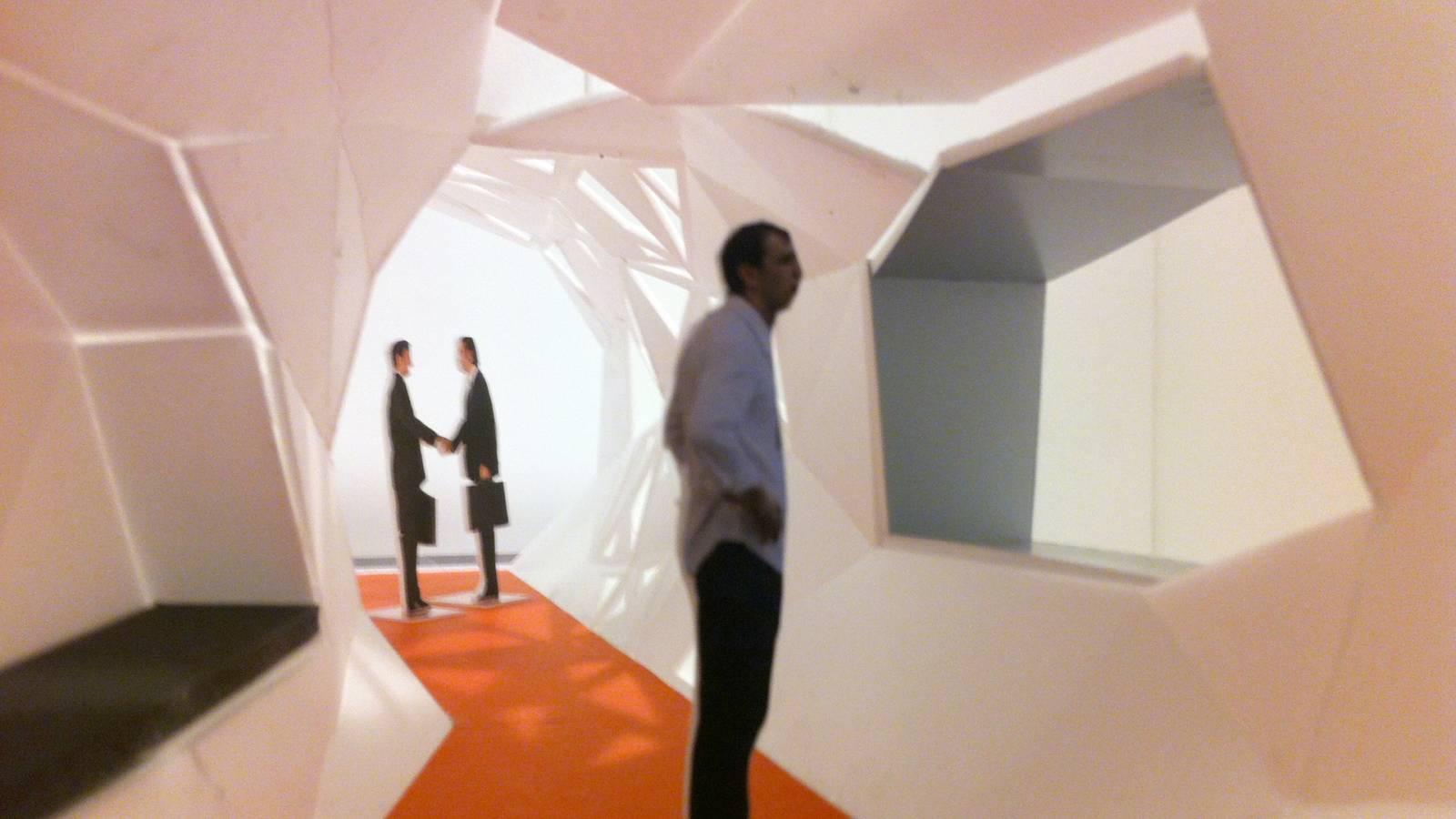 CORRIDOR VIEW - Zeppelin Films - SPOL Architects