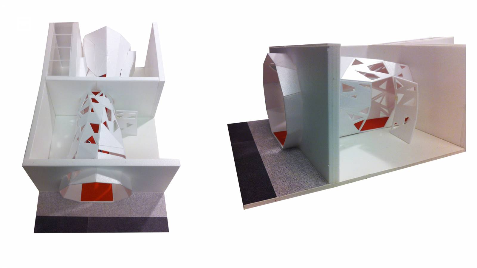 CORRIDOR STUDY MODEL - Zeppelin Films - SPOL Architects