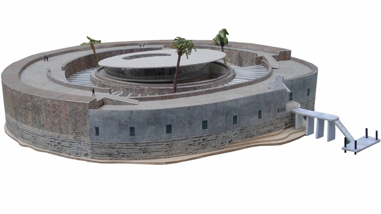 PRESENTATION MODEL - Forte São Marcelo - SPOL Architects