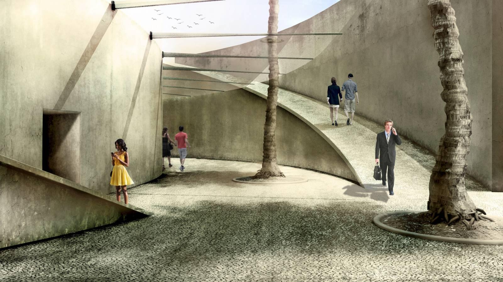 BETWEEN WALLS - Forte São Marcelo - SPOL Architects