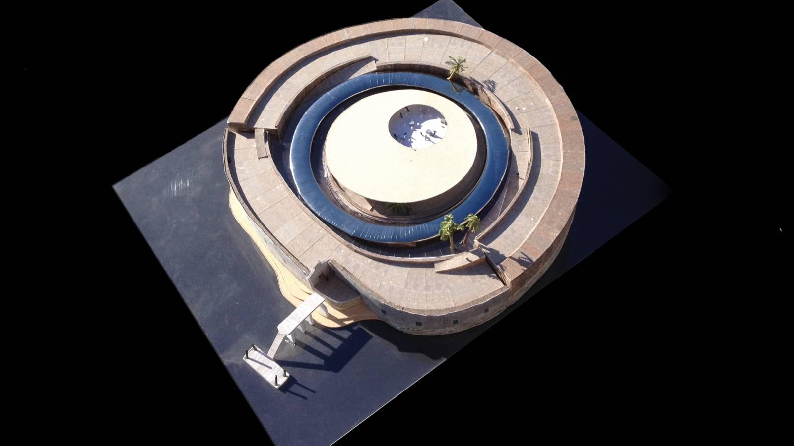 FINAL PRESENTATION MODEL - Forte São Marcelo - SPOL Architects