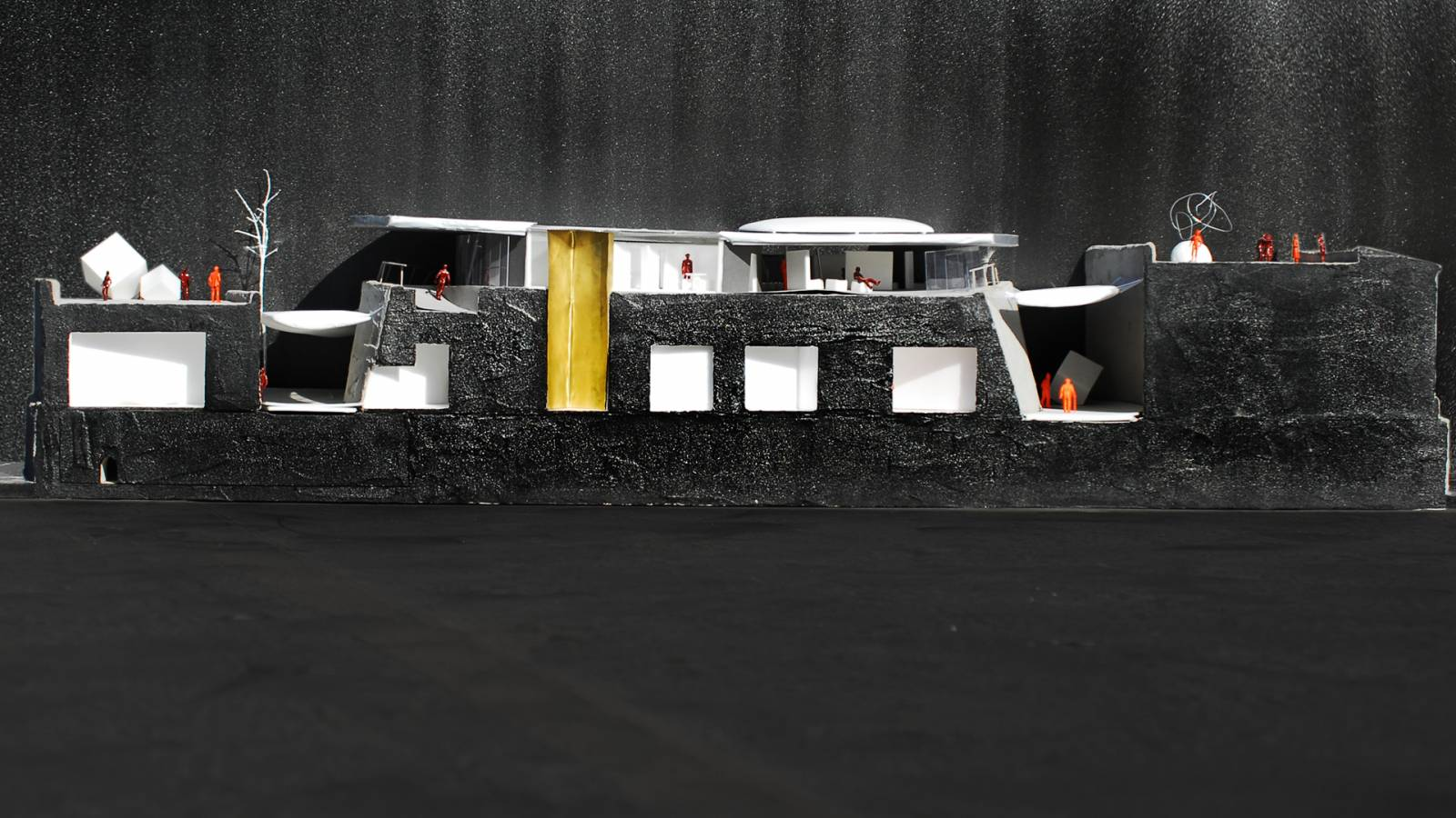 1:50 SECTION MODEL - Forte São Marcelo - SPOL Architects