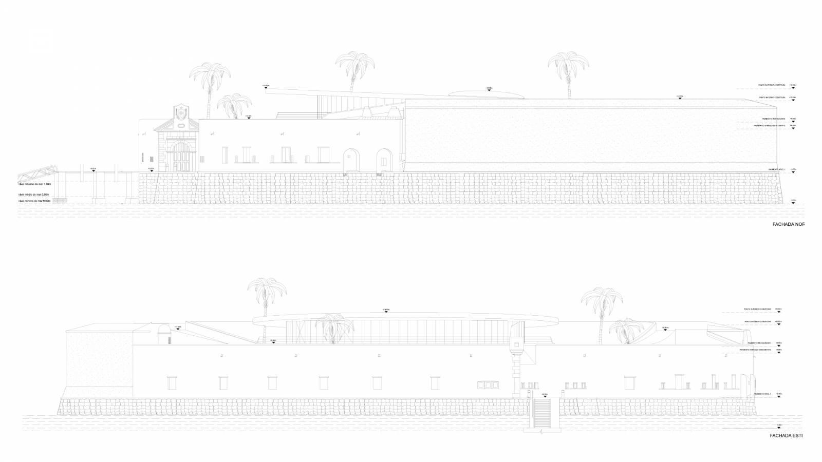 SECTIONS - Forte São Marcelo - SPOL Architects