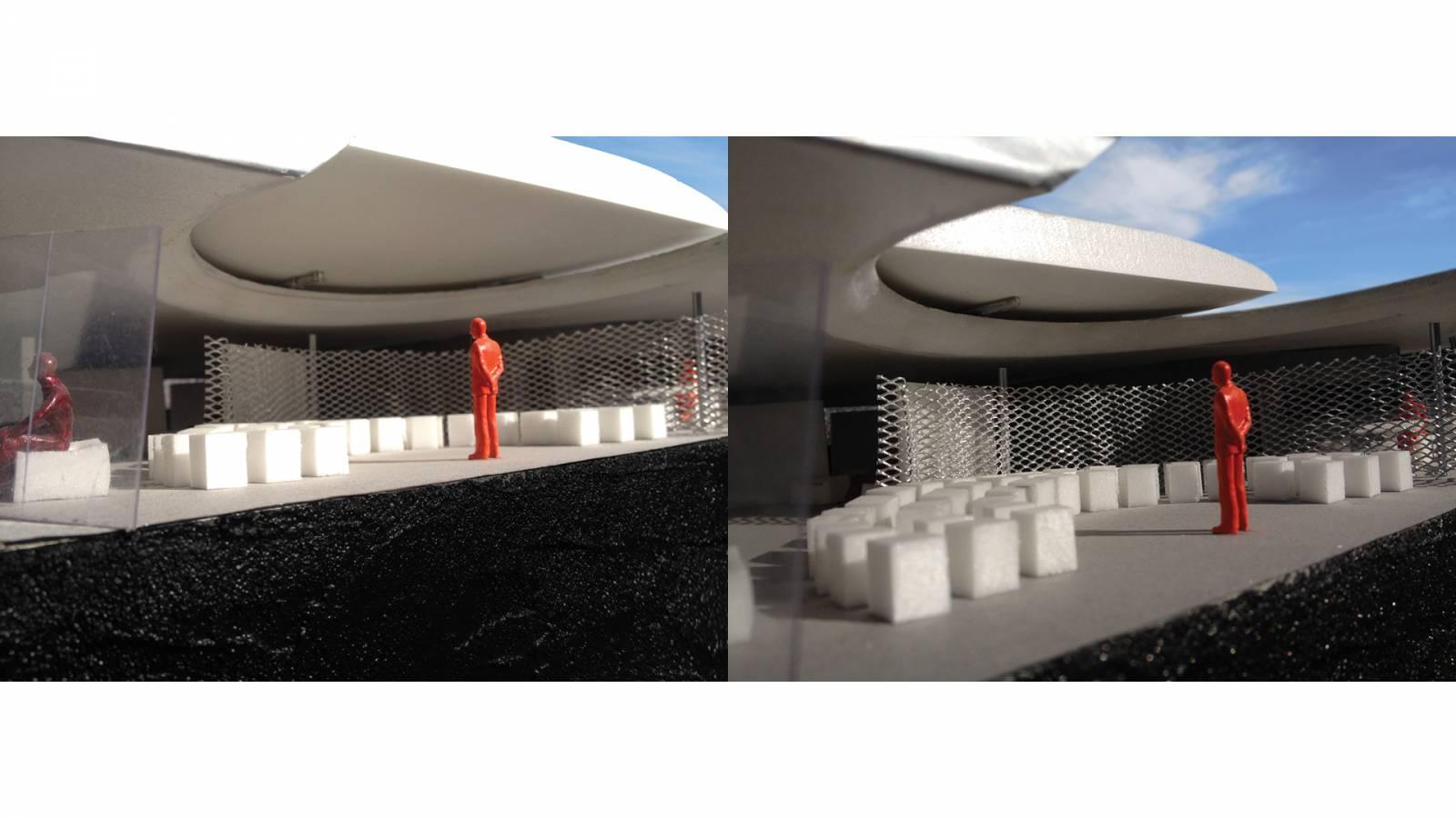 PATIO WITH BURNING RIM - Forte São Marcelo - SPOL Architects