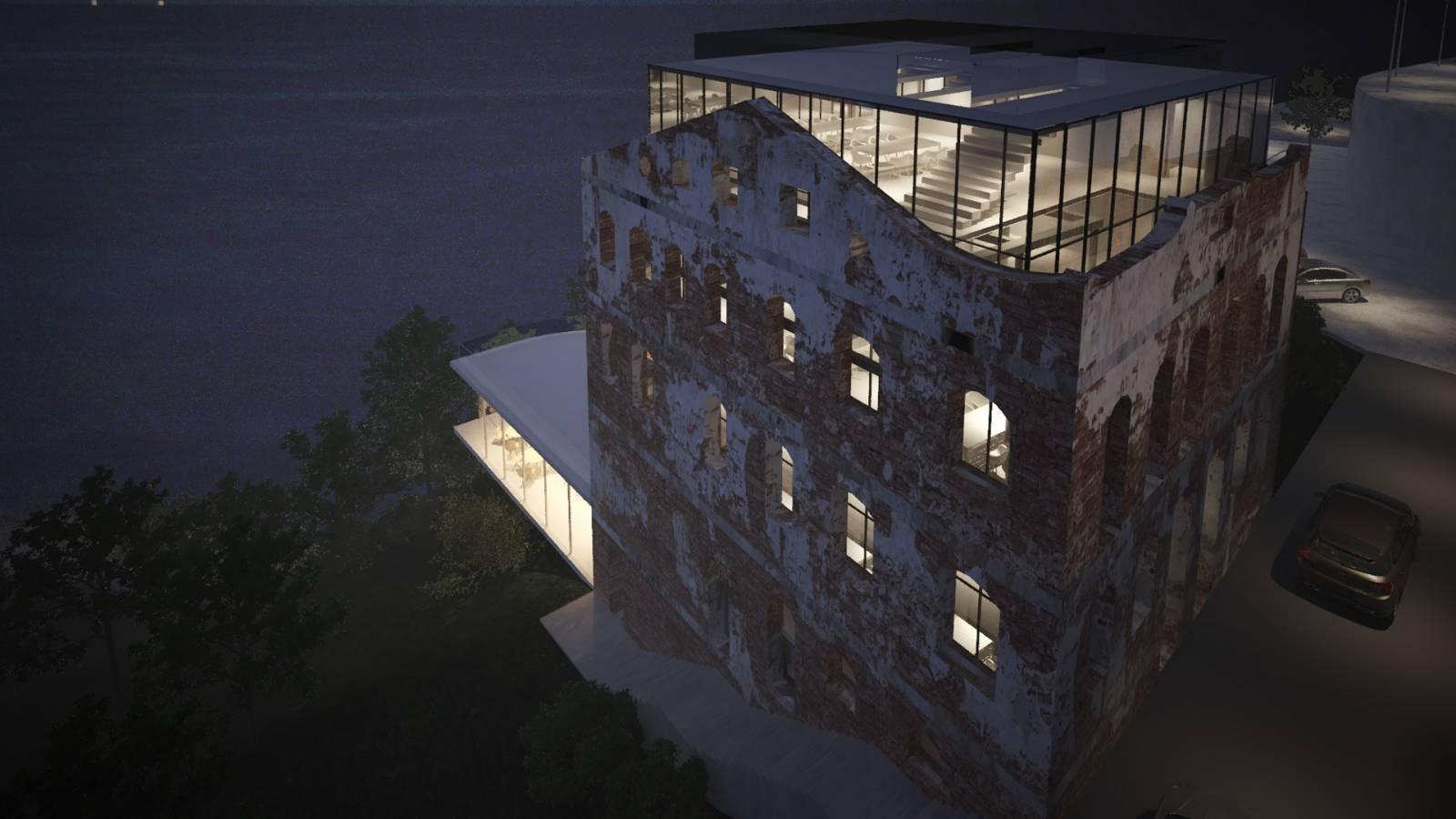 NIGHT VIEW - Sodré - SPOL Architects