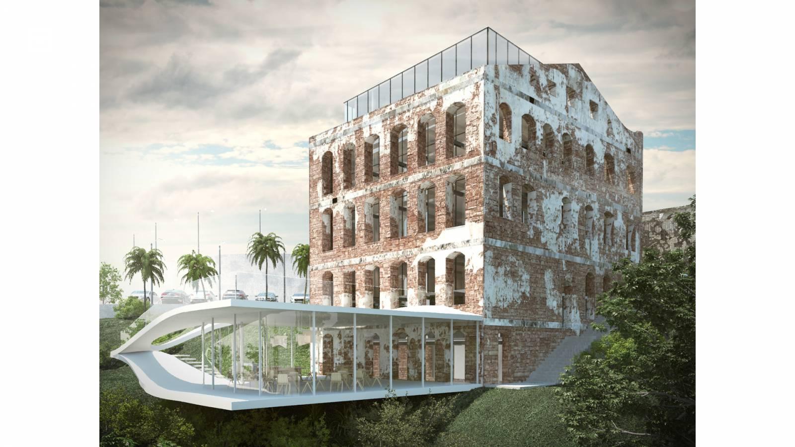 PERSPECTIVE - Sodré - SPOL Architects