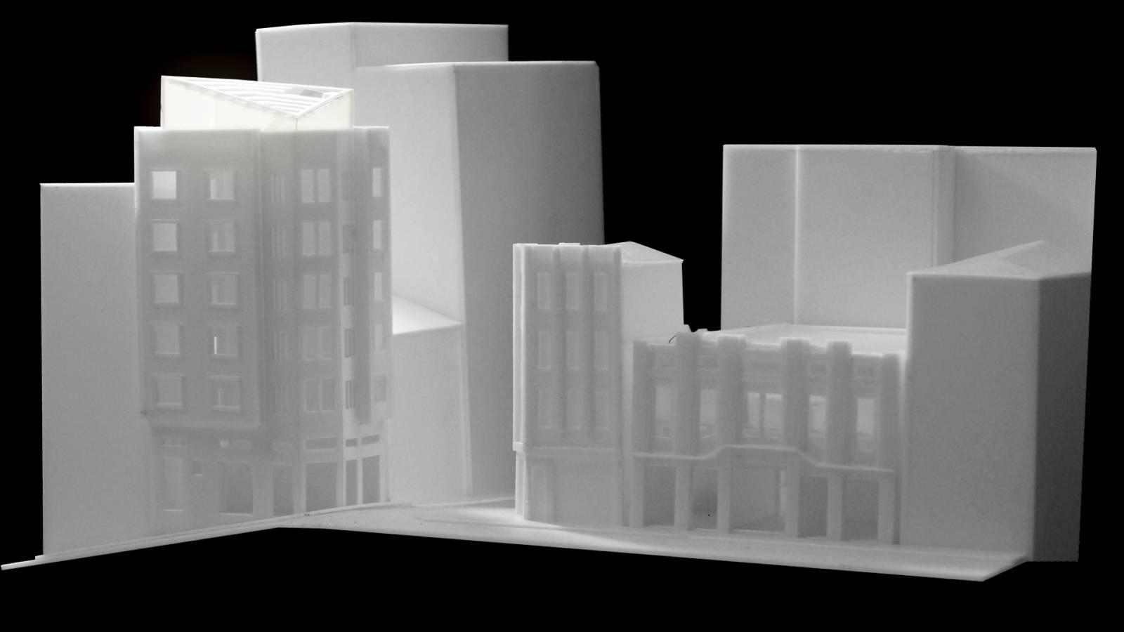 MODEL STUDY - Edifício Barreiro - SPOL Architects