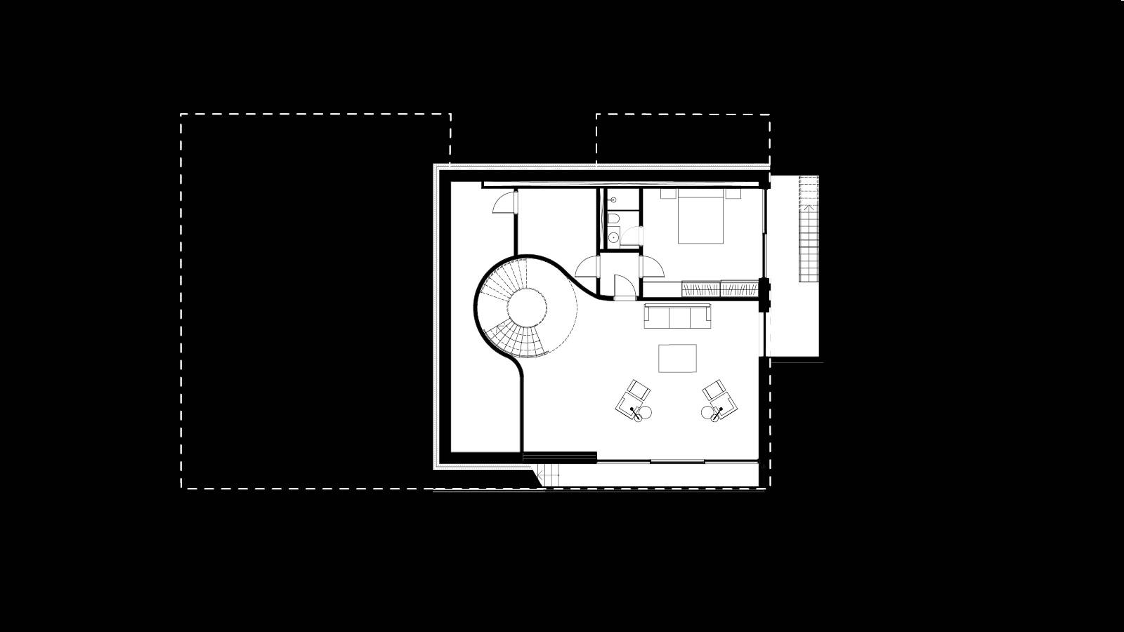 BASEMENT LEVEL PLAN - CPH HOUSE - SPOL Architects