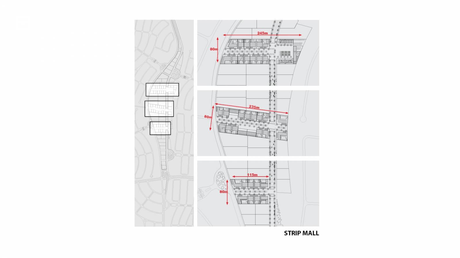 STRIP MALL - Alphaville Ceará - SPOL Architects