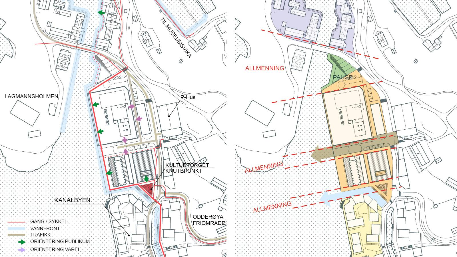 SITE DIAGRAMS - Kunstsilo - SPOL Architects