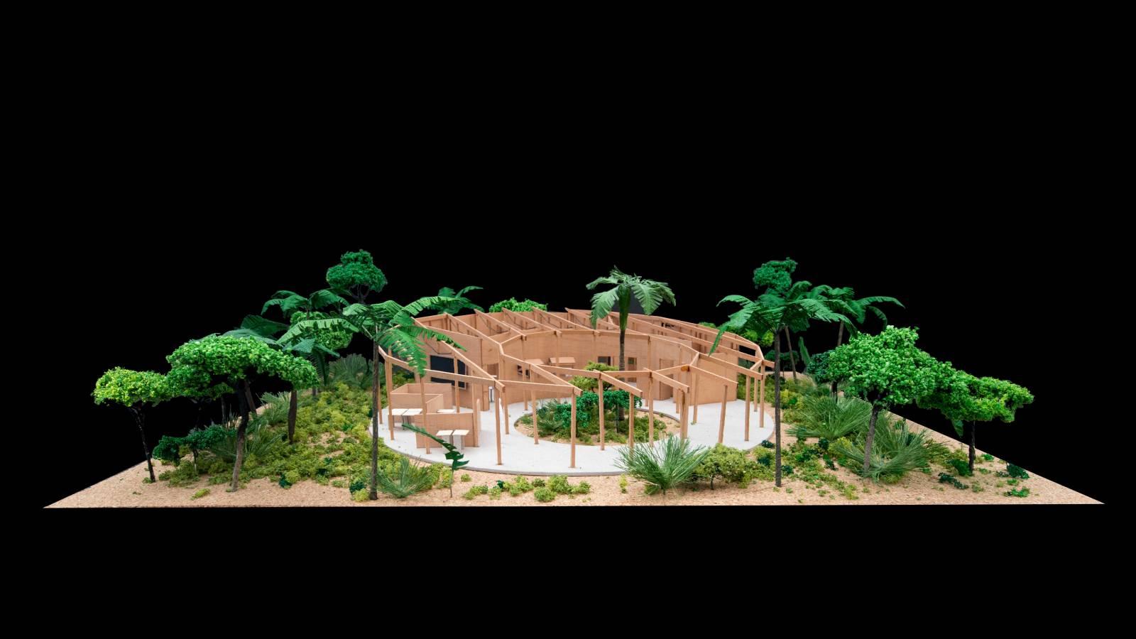 FINAL MODEL - Igapó-Açu School - SPOL Architects