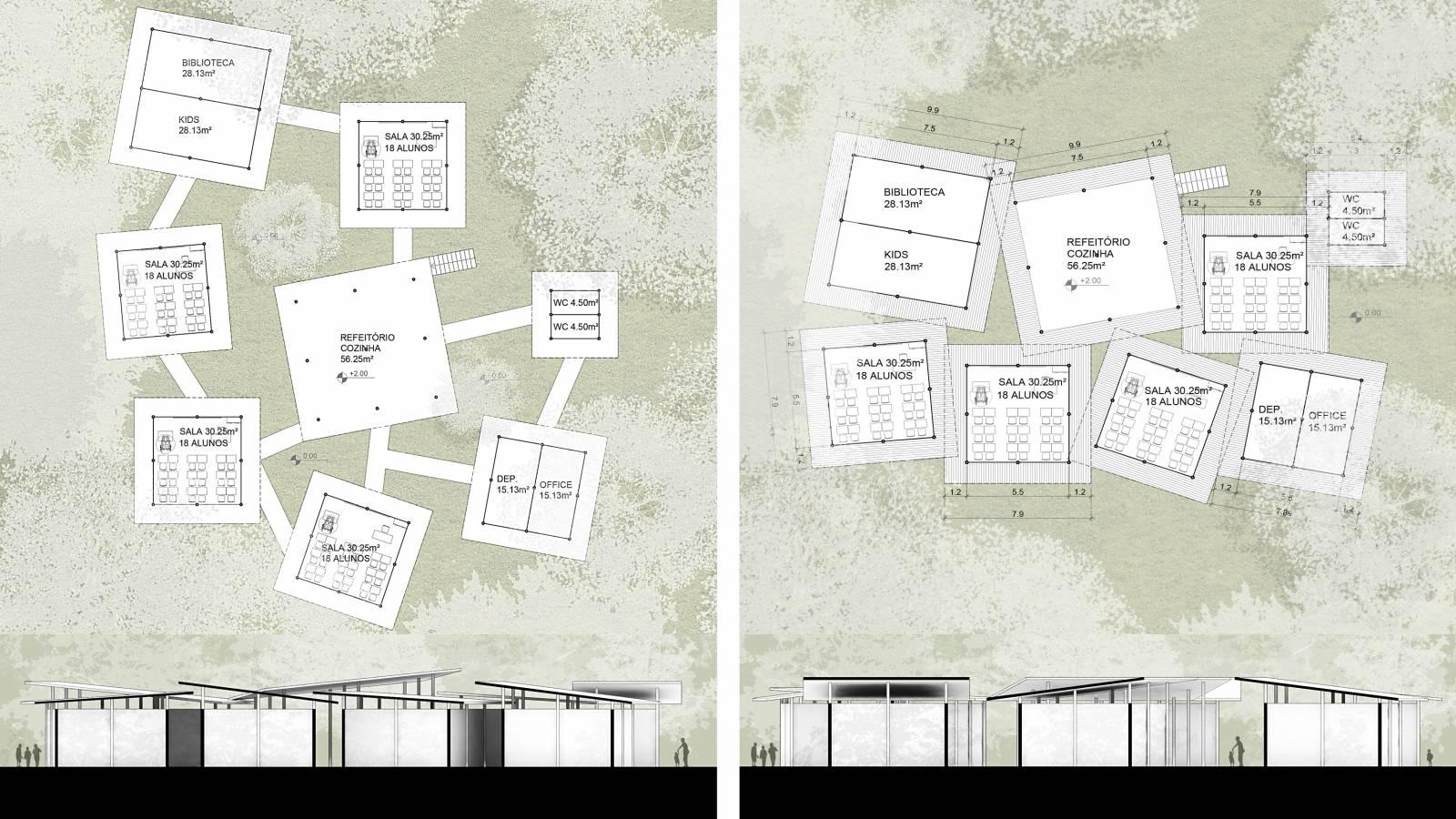 CONCEPT DRAWINGS - Igapó-Açu School - SPOL Architects