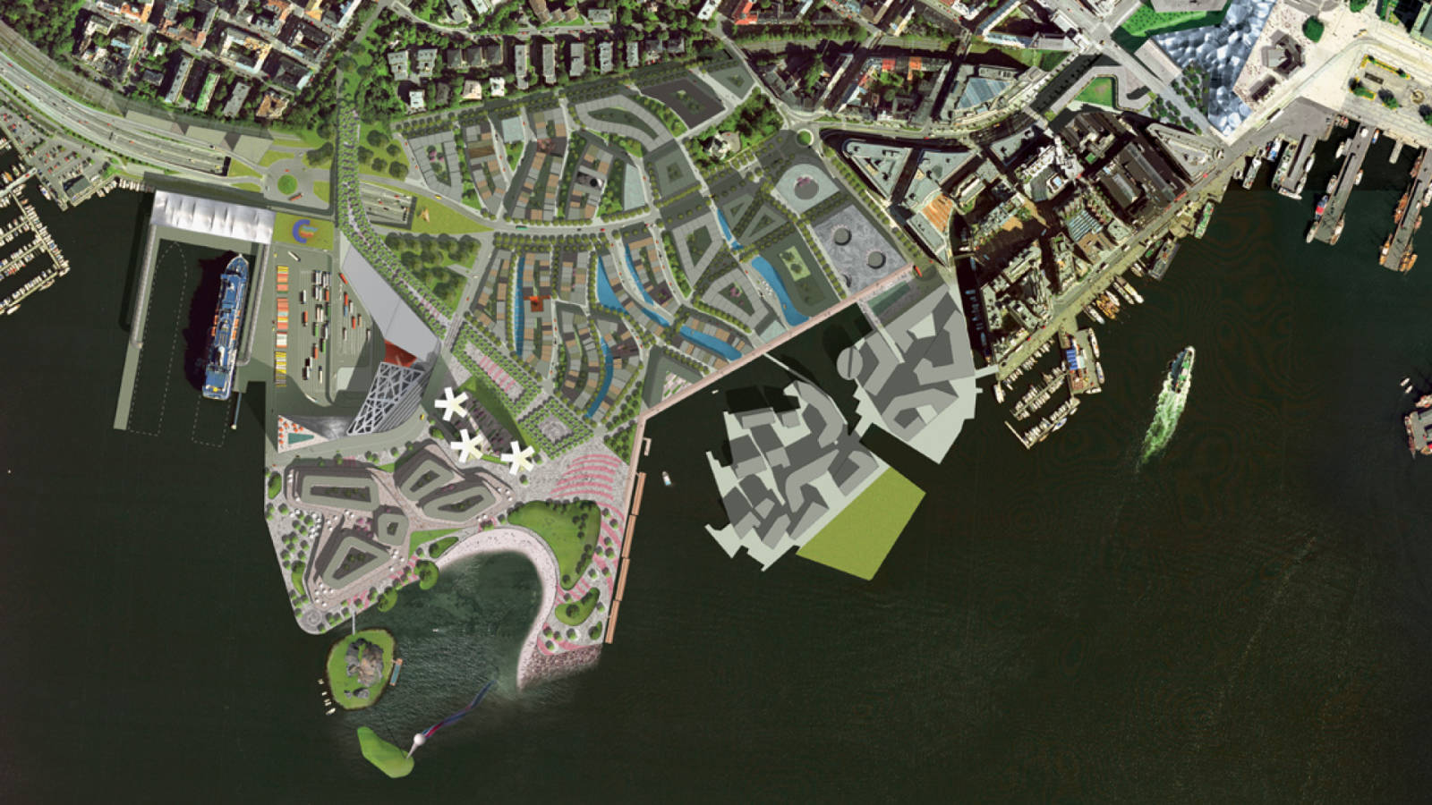 COMPETITION PLAN - Filipstad Ferry Terminal - SPOL Architects